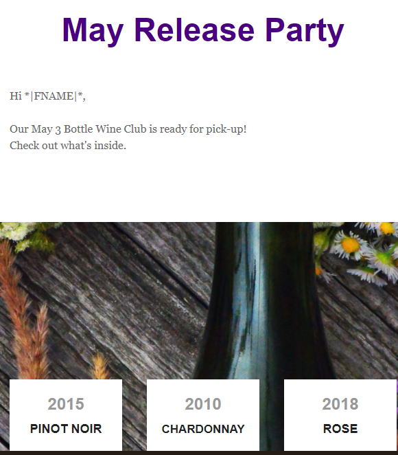 May Release