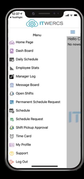 ITWERCS Employee Management App