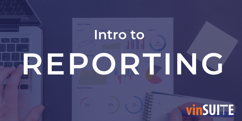 Intro to reporting training webinar