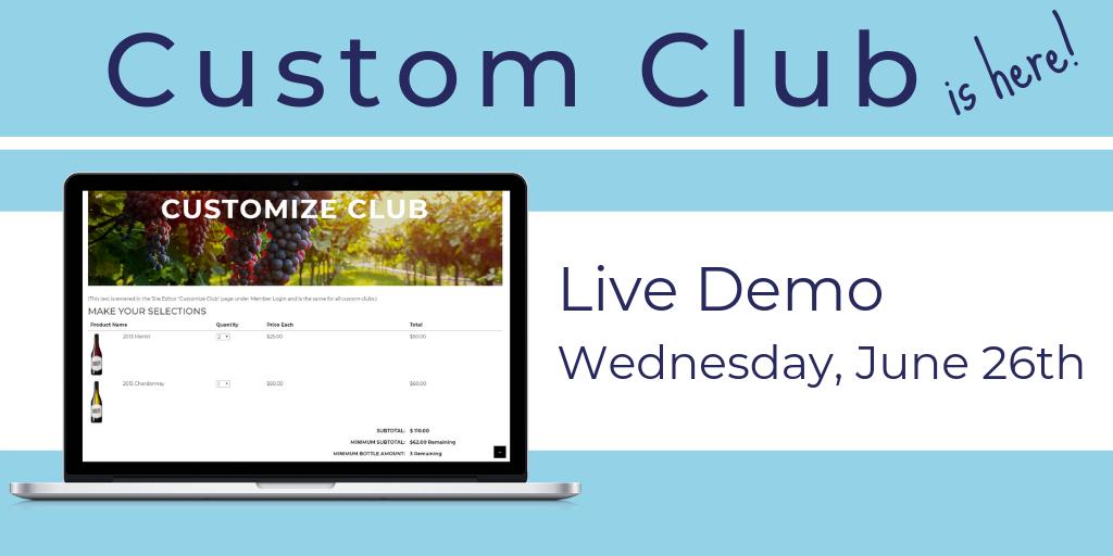 Custom Club Demo