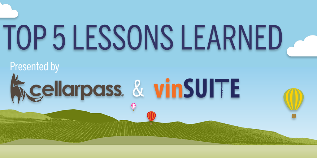 Top 5 Lessons Learned with CellarPass