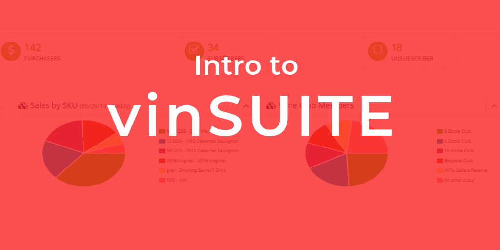 Intro to vinSUITE training webinar
