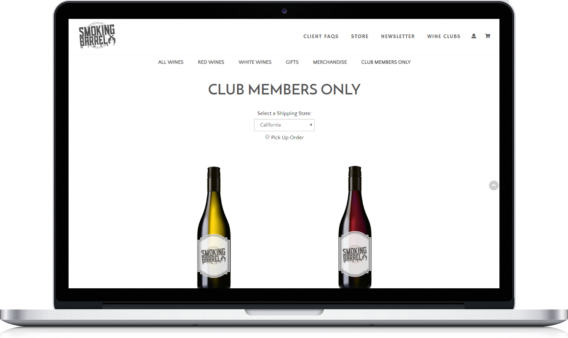vinSUITE club members only page